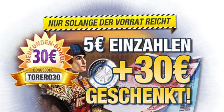 5 euros minimum deposit online casino