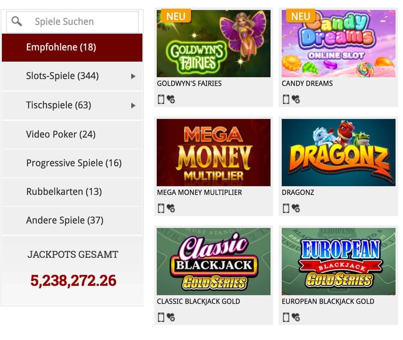minimum deposit casino 1